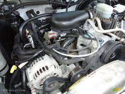 2003 Chevrolet S10 LS Extended Cab 4.3 Liter OHV 12V Vortec V6 ...