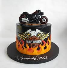 Harley Davidson Cake Decorations Harley Davidson Cake By Michelle Chan Cakes Cake Decorating