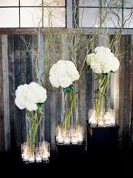 modern table centerpieces for a wedding