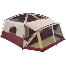 Multiple Room Tents Ozark Trail 12 Person Cabin Tent With Screen Porch Walmartcom