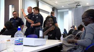 police launch program to inspire first generation of south sudanese officers