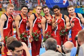 usa gymnastics 2008 u s olympic team for men s gymnastics talks about beijing