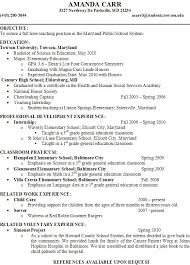 professional teachers resumes. amandacarrportfolio home .