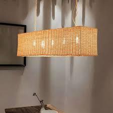 rectangular restaurant hanging lamp