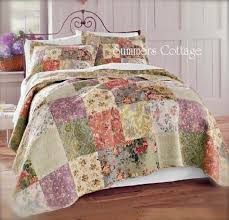 MULBERRY COTTAGE FRENCH COUNTRYSIDE QUILT SET PILLOW SHAMS - KING ... & MULBERRY COTTAGE FRENCH COUNTRYSIDE QUILT SET PILLOW SHAMS - KING or QUEEN Adamdwight.com