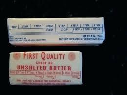 Stick Butter Conversion Chart Stick Of Butter Measurement Urbnist Co