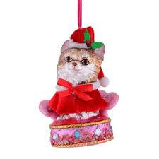 Gift Company Christbaumschmuck X Mas Hund Auf Plüschsesessel