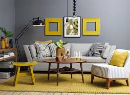 yellow and grey furniture. decorate with grey yellow and furniture a