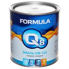 <b>Эмаль ПФ-115 Formula Q8</b> синяя, 2.7 кг в Москве: отзывы, цены ...