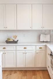 White Shaker Kitchen Cabinets Hardware Kitchen Layout Shaker