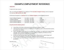 Job Recommendation Letter Template Pdf Employee Templates Hr Free