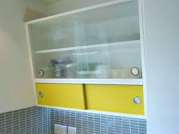 vintage angled kitchen cabinets