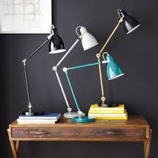 westelm lighting. Industrial Task Table Lamp; Lamp Westelm Lighting