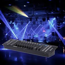 Disco Light Controller Us 36 88 34 Off Lixada Disco Light Controller 192 Channels Dmx512 Controller Console For Stage Light Party Dj Disco Operator Equipment In Stage