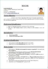Resume For Freshers Exotic It Resume Samples Resume Design