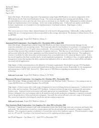 Database Developer Resume Template Impressive Download Resume In MS Word Formatdoc