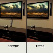 How To Hide Tv Ce Tech In Wall Power Cord And Cable Kit Tv Cable Feeding Tube