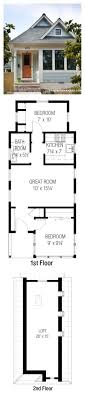 Small House Plans With Loft Bedroom 17 Best Ideas About Tiny House Plans On Pinterest Small Homes