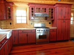 red kitchen cabinets ideas rustic painted kitchen cabinets red painted kitchen cabinets amazing rustic red painted