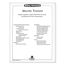 writing adventures acirc reg master toolkit create press