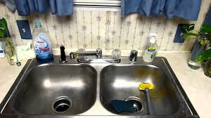 Mobile Home Kitchen Faucets Howto Replacing A Mobile Home Kitchen Faucet Part 3 Youtube