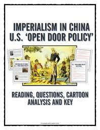 imperialism in china usa open door policy reading questions cartoon