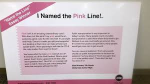 things turn up roses for pink line essay winner now a teacher eleni vrettos wrote this award winning essay on naming the cta s pink line in 2006