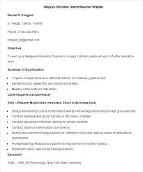 Resume Teacher Template Inspiration Teacher Resume Templates Microsoft Word 24 Prepossessing Resume