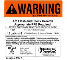 Arc Flash Clothing Rating Chart Ppe Requirements Electrical Safety Specialists Ess