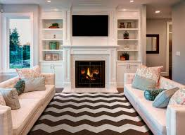 White Living Room Storage Cabinets Living Room Inspiration Long White Comfy Sofa Wall Paint Color Modern Fur Rug Decoration Wooden Windows Frame Fireplace With Color Of Cabinet And