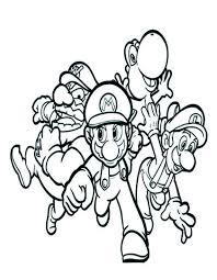 Personaggi Super Mario Bros Da Stampare Gratis
