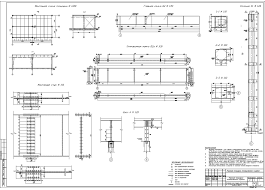 Готовые курсовые проекты по металлическим конструкциям Скачать  Рабочая площадка промышленного здания 2