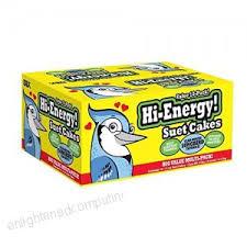 High Energy <b>Wild Bird</b> Blend Suet Cakes Bird Feed 10 Pack Year ...