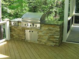 To Build Outdoor Kitchen How To Build An Outdoor Kitchen On A Deck The Kitchen Remodel