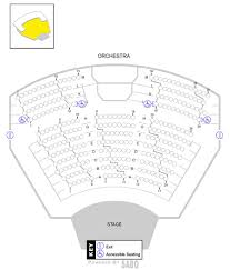 Seating Map Weber Center For The Performing Arts