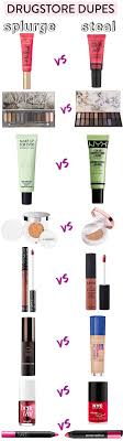 the ultimate list of best dupes most under 10 get the high high end vs makeup