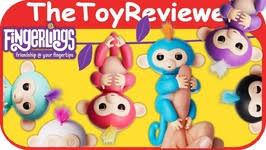 WowWee Fingerlings Interactive Baby Monkeys Bella Boris Robot ...