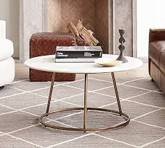 blair 35 5 round marble coffee table