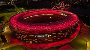 View a location map of manchester united fc's old trafford, along with a journey planner and further stadium information, on the official website of the premier league. Optus Stadium Turns Red For Manchester United Austadiums