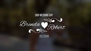 Wedding Title Template Wedding Titles V5 After Effects Templates Motion Array