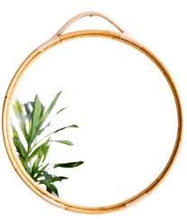 19 rattan mirrors for the coastal home