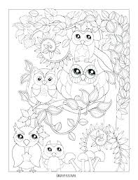 Ba Owl Coloring Pages Owls Coloring Pages Owl Colouring Pages Barn