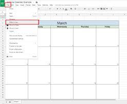 Calendar Doc 015 Weekly Calendar Template Google Sheets Ideas Make Copy