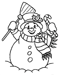 Small Picture Frosty The Snowman Coloring Pages Coloring Page Of Sonwman During