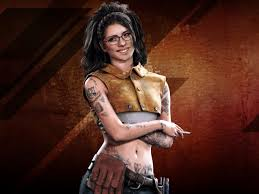 Wallpaper Devil May Cry 5, tattoo girl ...