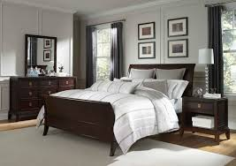 architecture marvellous design bedroom ideas with dark furniture decorating wood sleigh bed decoration pretentious inspiration bedroom