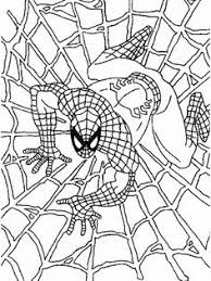 Small Picture Spiderman Coloring Pages for Kids Free Printable Spiderman