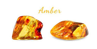 Leo Lucky Stone Name Amber - AtPerry's Healing Crystals