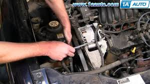 how to install replace serpentine belt idler pulley ford taurus how to install replace serpentine belt idler pulley ford taurus 3 0l v6 1aauto com