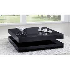 Table salon noire petites tables basses design | Maison bois legallo
